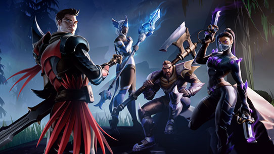 dauntless artwork console launch key art thumbnail