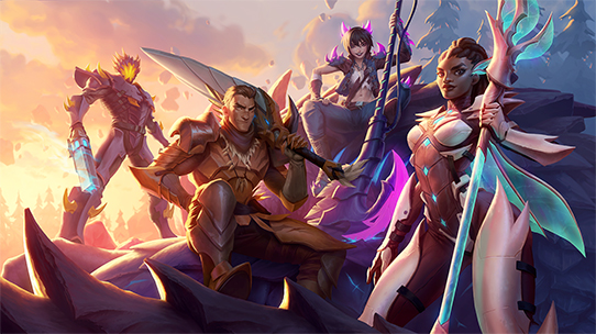 dauntless artwork squad goals thumbnail