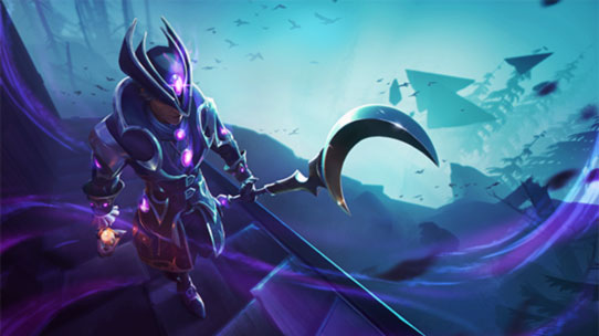 dauntless screenshot hunt pass haunted shadows login screen thumbnail