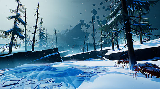 dauntless screenshot snow biome thumbnail