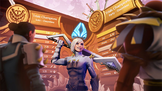 dauntless screenshot wall of champions leaderboards thumbnail