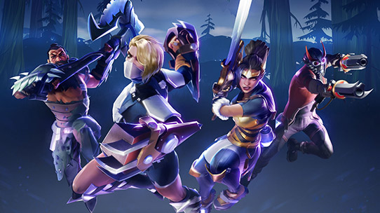 dauntless screenshot weapon lineup thumbnail