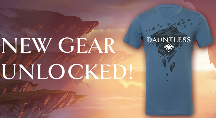 Dauntless Merchandise is Here!