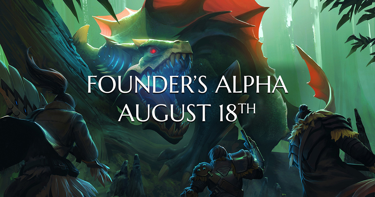 Founder's Alpha Launch Date