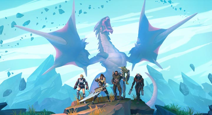 Dauntless arriva su Nintendo Switch